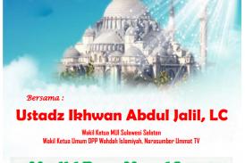 KAJIAN ISLAMIYAH bersama USTADZ IKHWAN ABDUL JALIL