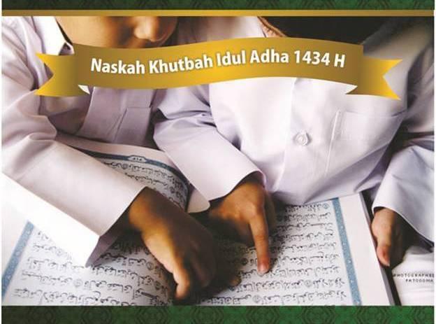 naskah khutbah idul adha 1434 H - Wahdah Islamiyah