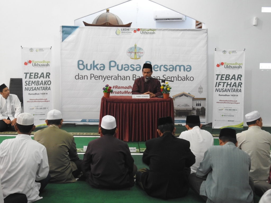 ustadz Muhammad Ikhwan Abdul Jalil - buka puasa bersama wahdah islamiyah